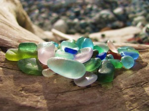 Sea Glass Colors by J  Jasmyn Phillips